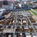 2工区基礎コンクリート打設