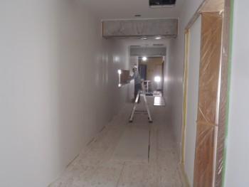 1F壁塗装