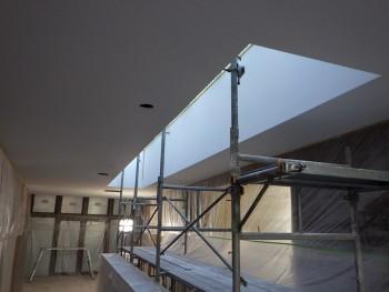 ホール塗装状況